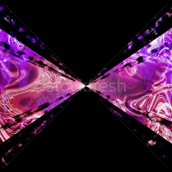 Roxo plasma vórtice espaço acelerar Foto stock © ArenaCreative