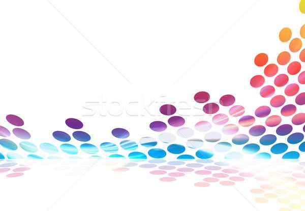 Rainbow Graphic Equalizer Stock photo © ArenaCreative