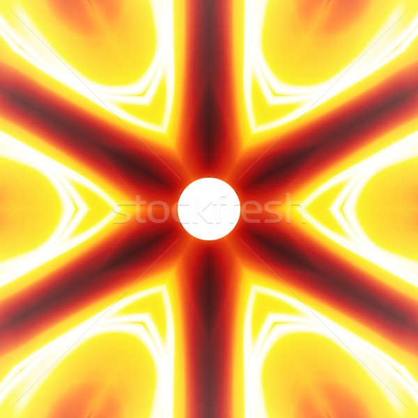 Fiery Abstract Vortex Stock photo © ArenaCreative