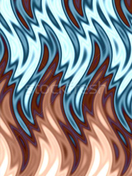 dancing flames Stock photo © ArenaCreative