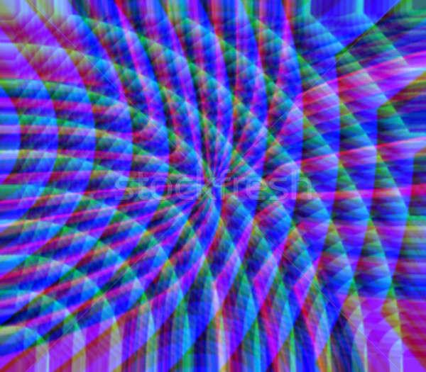 rainbow refraction Stock photo © ArenaCreative