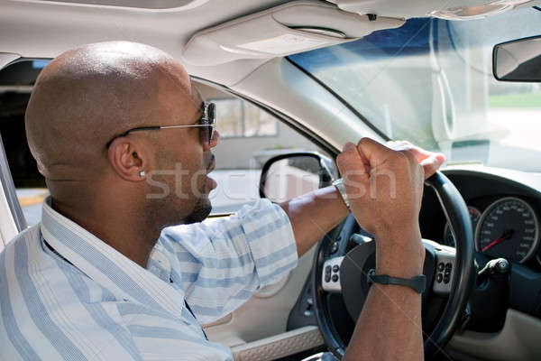 Frustrated Man With Road Rage Stock photo © ArenaCreative