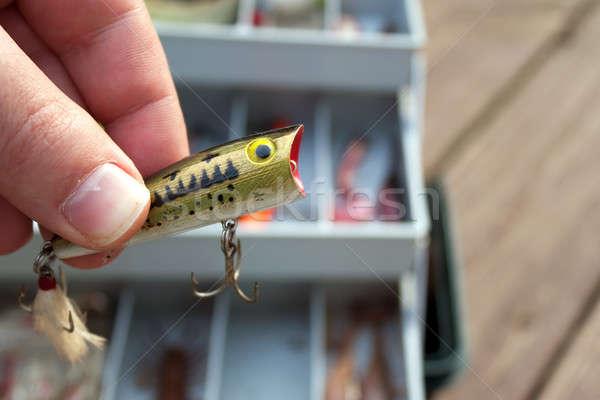 Fishing Lure Selection Stock photo © ArenaCreative