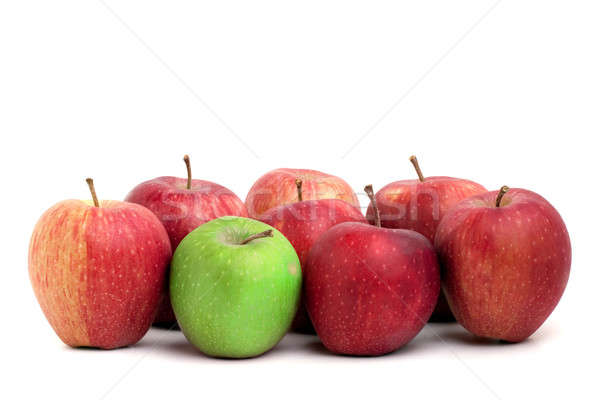 Stock photo: Individuality In Apples