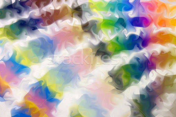 A swirly, rainbow background- originally an image of the pantone guide, all spread out. Stock photo © ArenaCreative