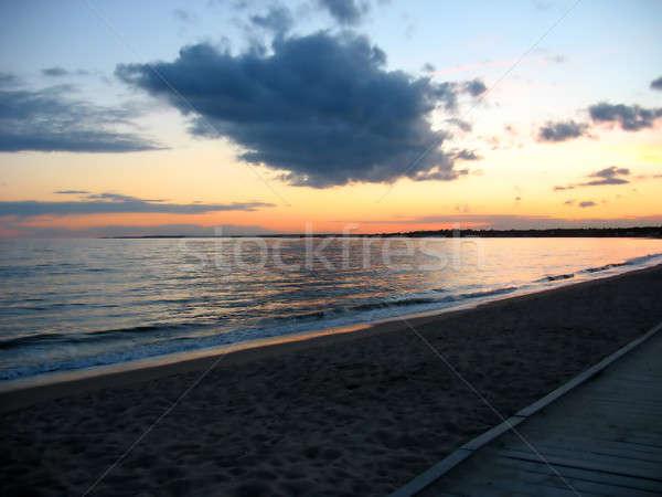 beach sunset Stock photo © ArenaCreative