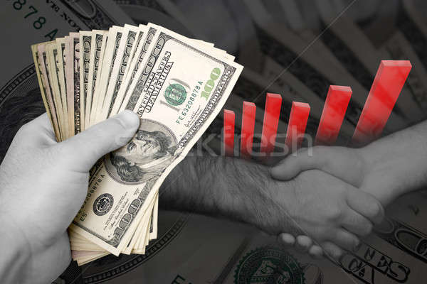 Successful Business Marketing Deal Stock photo © ArenaCreative