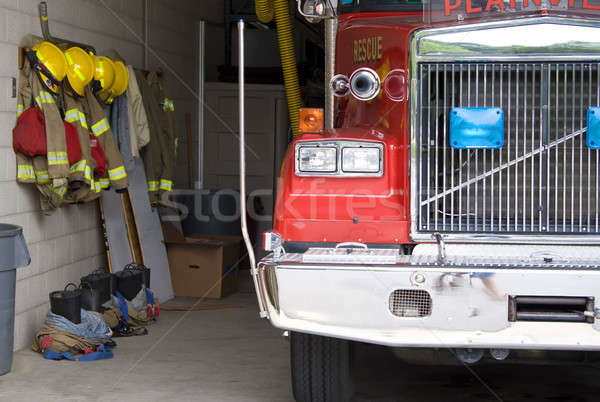 Fire Truck Stock photo © ArenaCreative