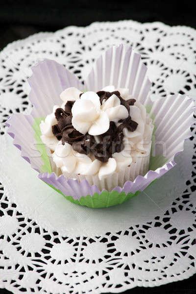Fancy Gourmet Cupcake Stock photo © ArenaCreative