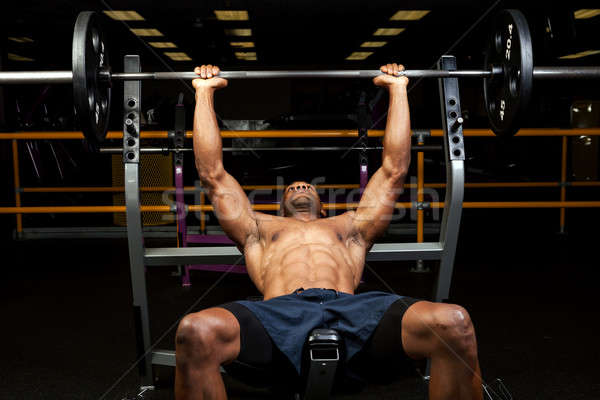 Incline Bench Press Stock photo © ArenaCreative