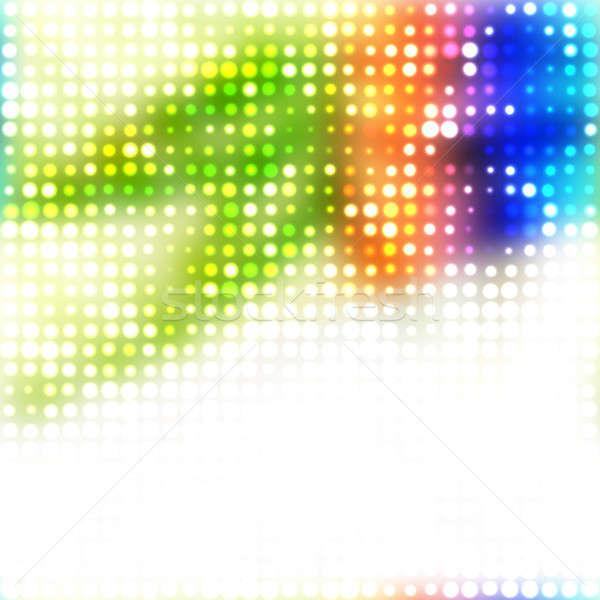 Colorful Rainbow Dots Stock photo © ArenaCreative