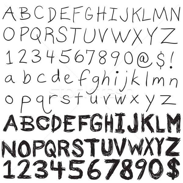 Hand Written Typography Stock photo © ArenaCreative