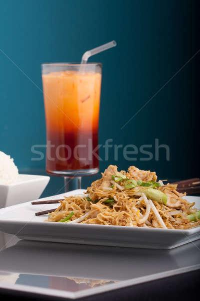 Thai Food Noodles Stock photo © ArenaCreative
