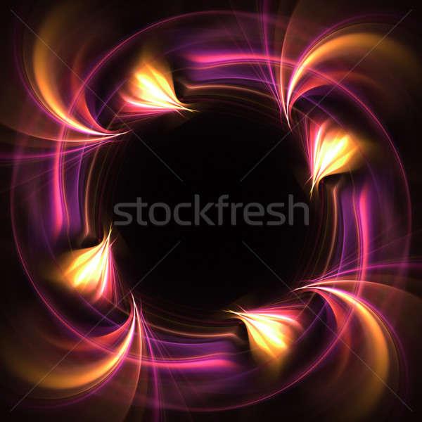 ファンキー フラクタル レイアウト デザイン ストックフォト © ArenaCreative