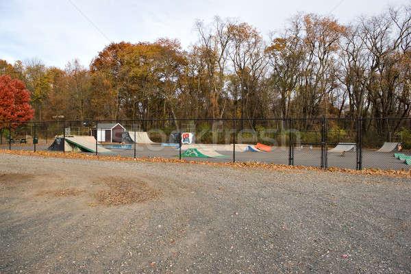 Outdoor skate parco vuota sport sfondo Foto d'archivio © ArenaCreative