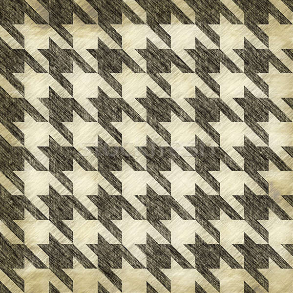 Vintage Hounds Tooth Pattern Stock photo © ArenaCreative