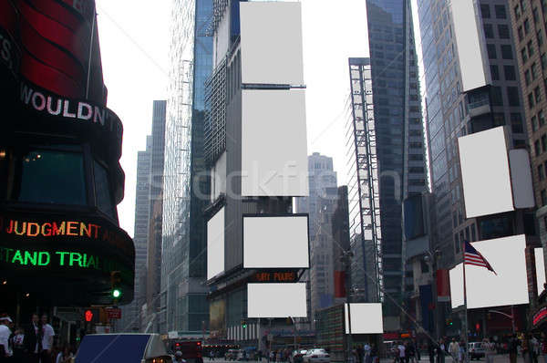 Times Square - Advertise Here Stock photo © ArenaCreative