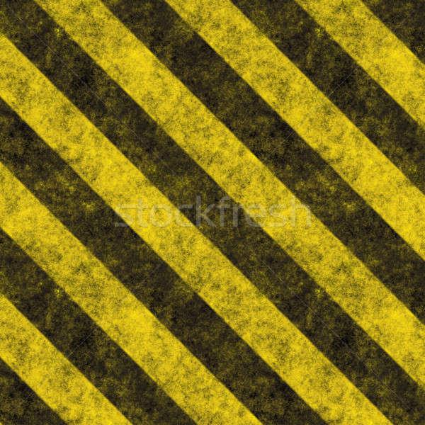 Hazard Stripes Stock photo © ArenaCreative
