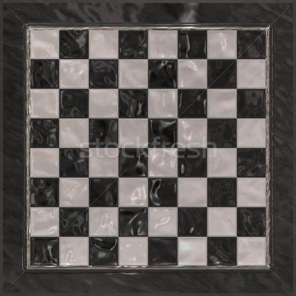Szachownica szachownica błyszczący tekstury projektu Zdjęcia stock © ArenaCreative