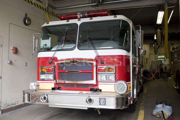 Brand New Fire Truck Stock photo © ArenaCreative