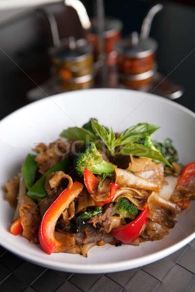 Pad Kee Mao Thai Dish Stock photo © arenacreative