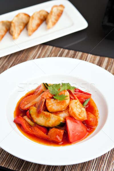 Thai Sweet and Sour Shrimp Stock photo © ArenaCreative