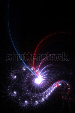 Abstract Fractal Stock photo © ArenaCreative