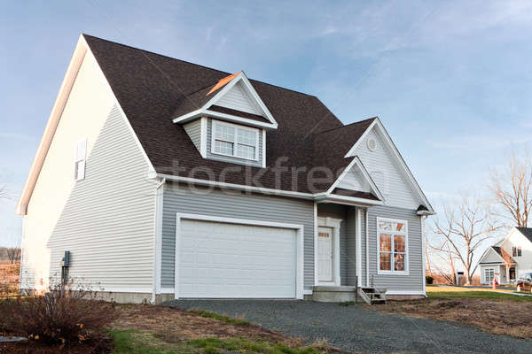 New Home with 2 Car Garage Stock photo © ArenaCreative