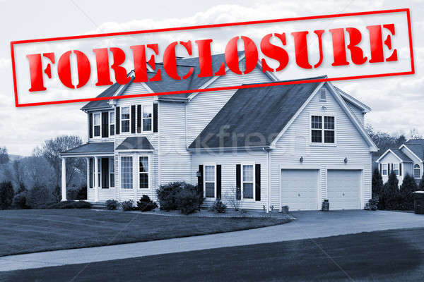 Stock photo: Foreclosure House