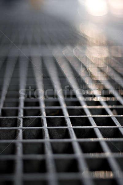 Subway Grate Stock photo © ArenaCreative