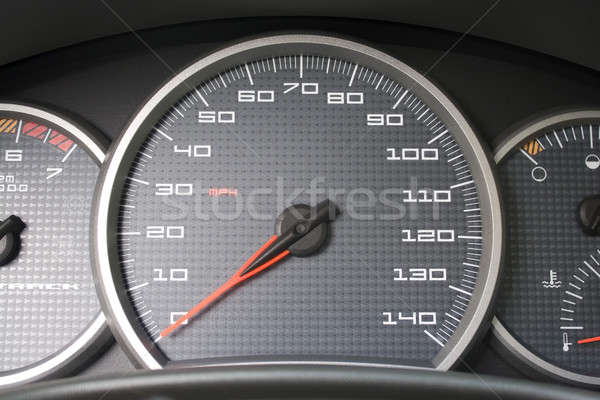 Car Dashboard Gauges Stock photo © ArenaCreative