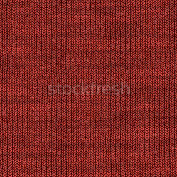 Garen textuur kan gebruikt patroon betegelde Stockfoto © ArenaCreative