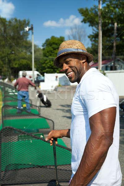 Golfer at the Range Stock photo © arenacreative