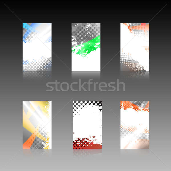 Abstract Business Cards Collection Stock photo © ArenaCreative