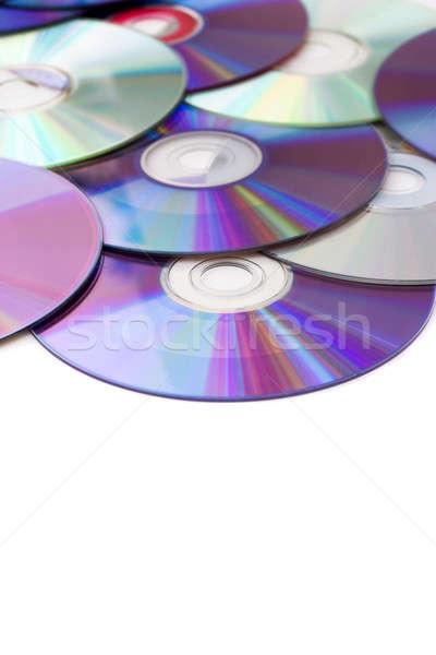 Blank Media Disks Stock photo © ArenaCreative