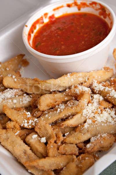 Eggplant Fries Stock photo © ArenaCreative