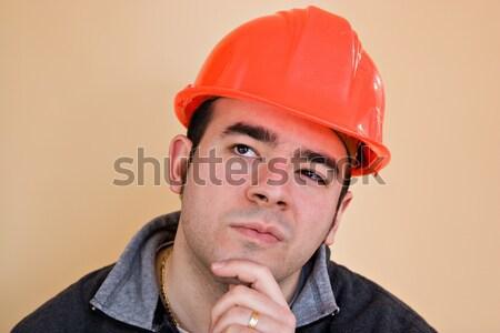 Construction Worker Triplets Stock photo © ArenaCreative