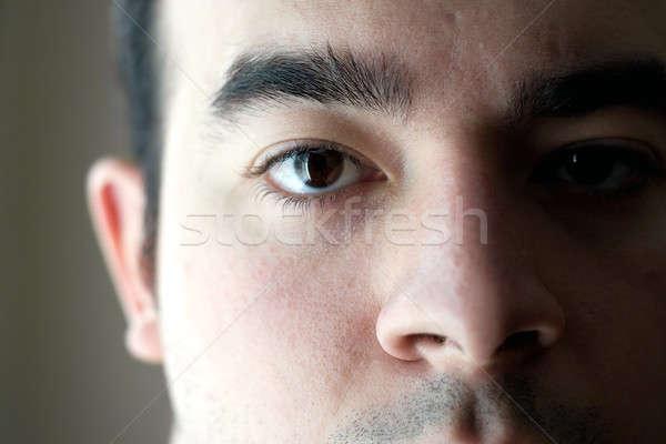 Face Closeup Stock photo © ArenaCreative