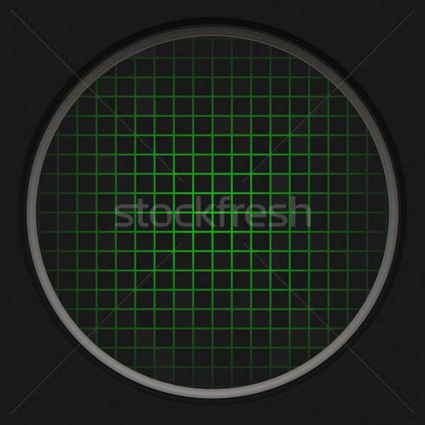 Radar red circular negro textura red Foto stock © ArenaCreative