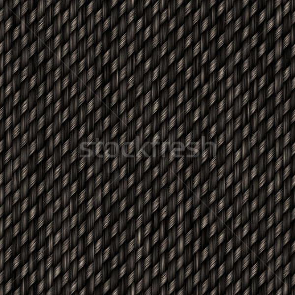 Seamless Carbon Fiber Pattern Stock photo © ArenaCreative