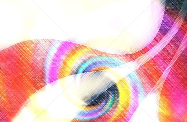 Vintage Abstract Swoosh Layout Stock photo © ArenaCreative