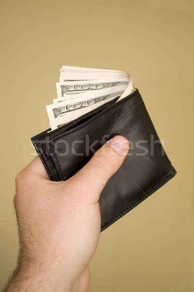 Wallet Full of Money Stock photo © ArenaCreative