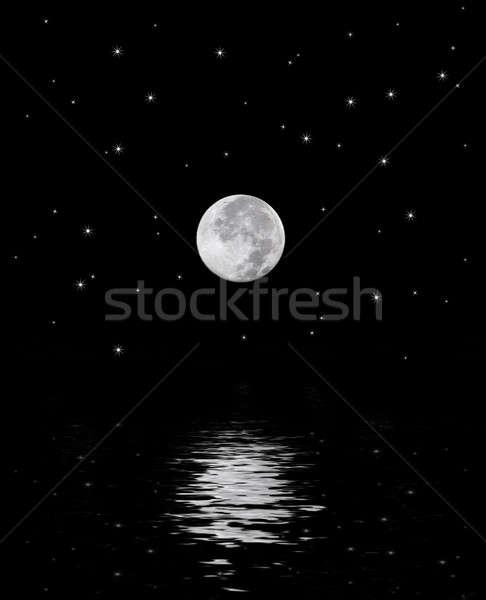 Beautiful Moon Stock photo © ArenaCreative