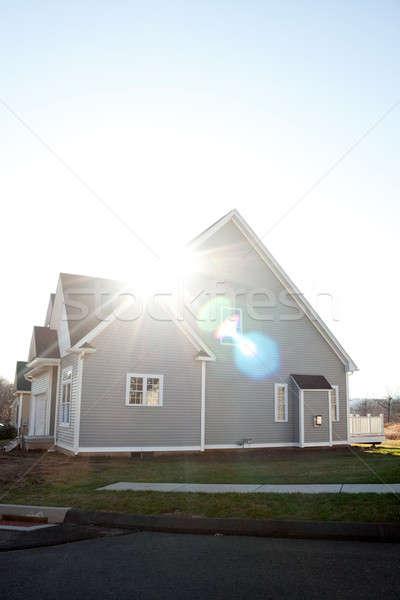 Brand New Home Construction Stock photo © ArenaCreative