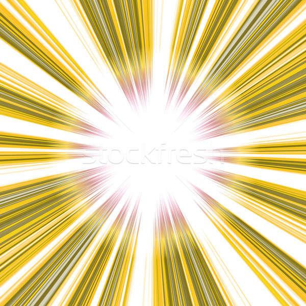 Bright Golden Vortex Stock photo © ArenaCreative