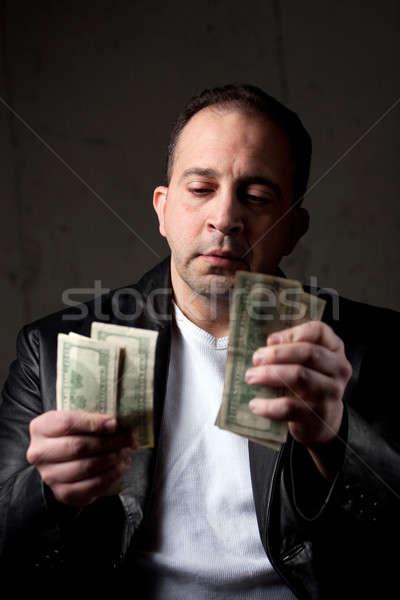 Man Counting His Money Stock photo © ArenaCreative