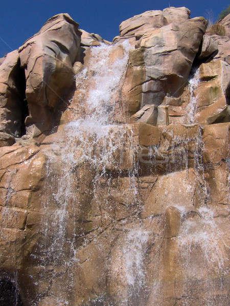 Rocky Waterfall Stock photo © ArenaCreative