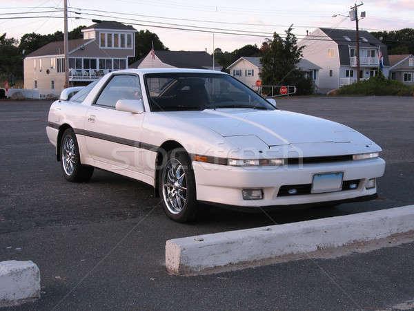 Stock photo: White Sportscar