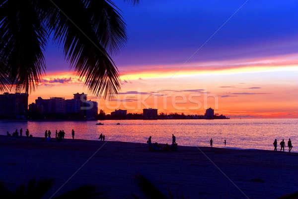 San Juan Puerto Rico Sunset Stock photo © ArenaCreative
