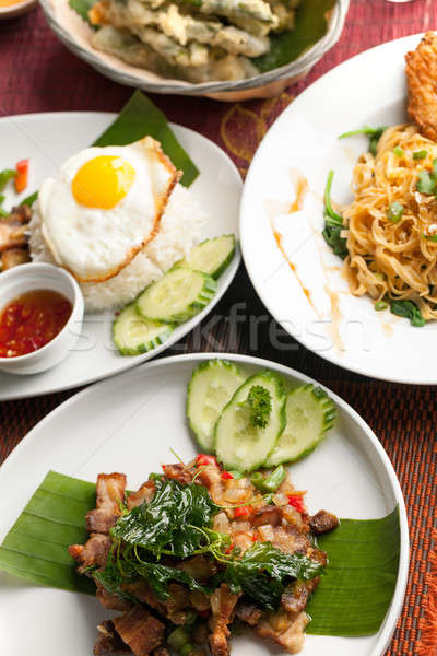 Authentic thai cuisine stock photo arenacreative for Authentic thai cuisine